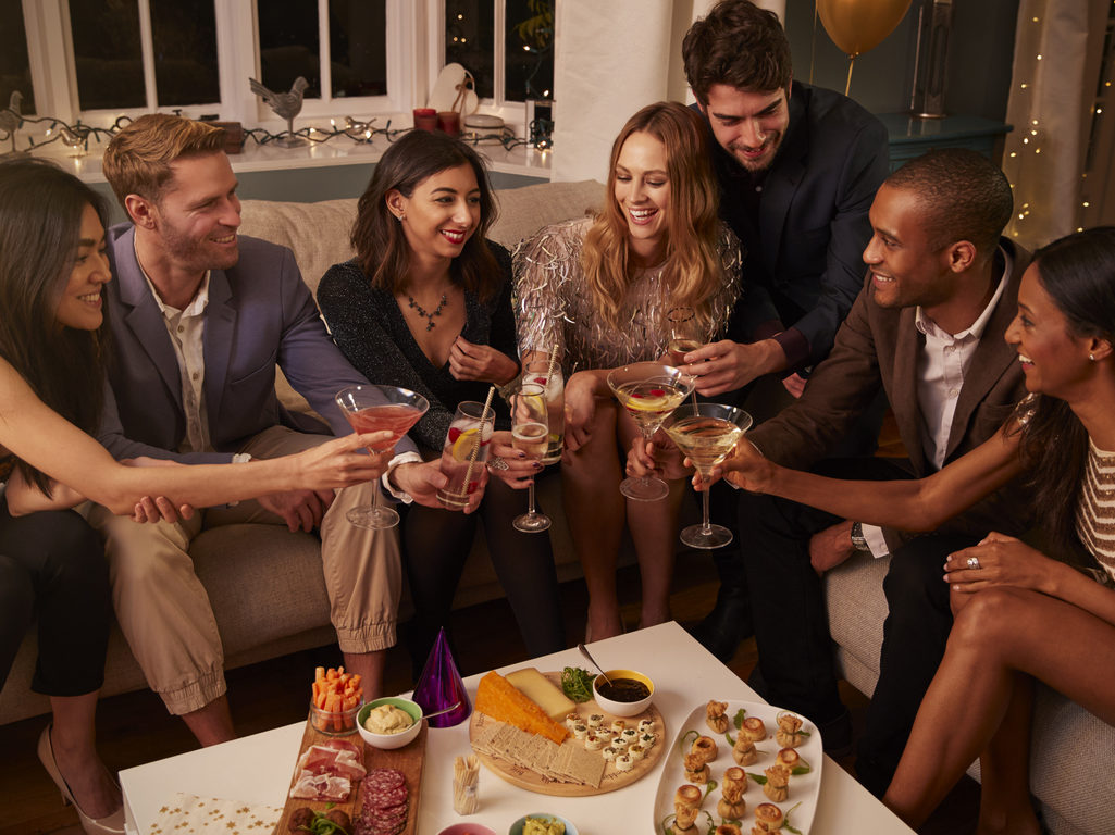 New Year's Eve Starters and Snacks. Ideas for Your Party.