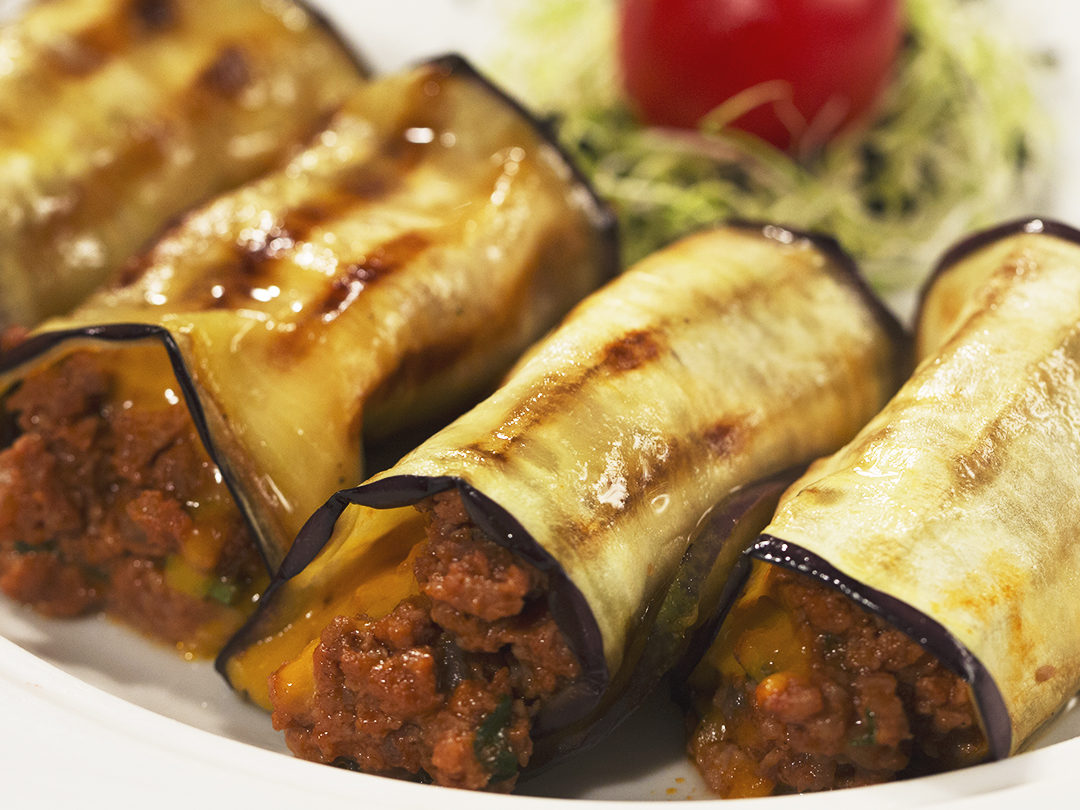 Beef and Eggplant Moussaka Rolls | So Delicious