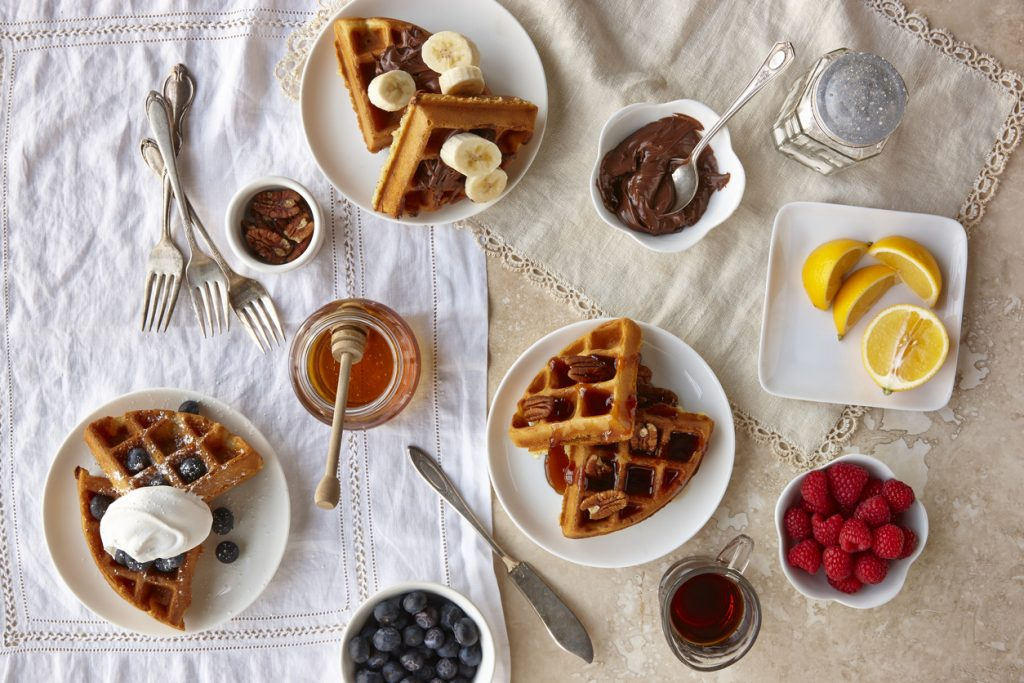 10 Ways to Eat Waffles to Create a Whole Experience -