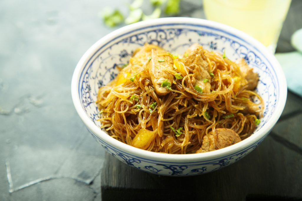dinner wok chicken