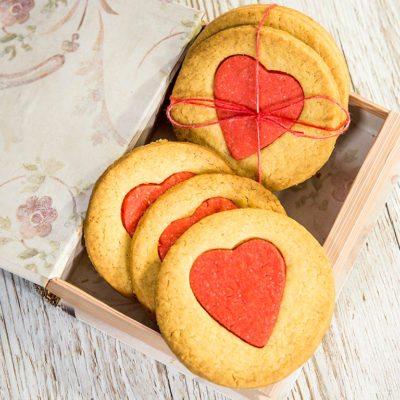 Rose Water Cookies