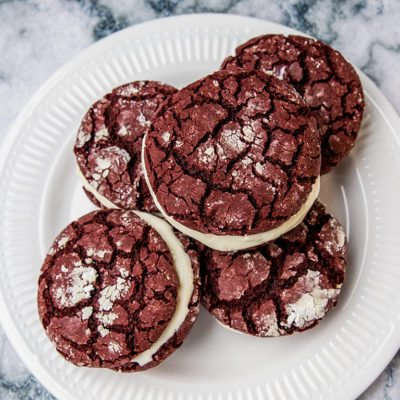 Cream Cheese Filled Whoopie Pies