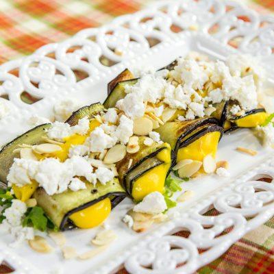 Eggplant Mayo Rolls