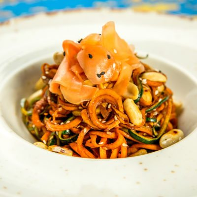 Zucchini and Carrot Noodles