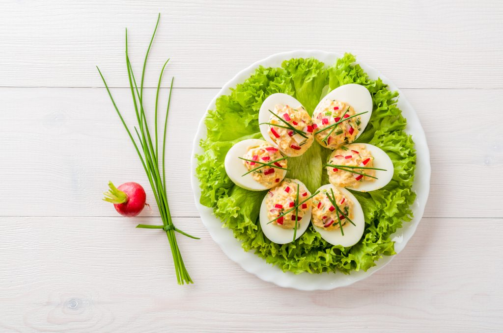Garnish Deviled Eggs: Ideas for Every Day of the Week