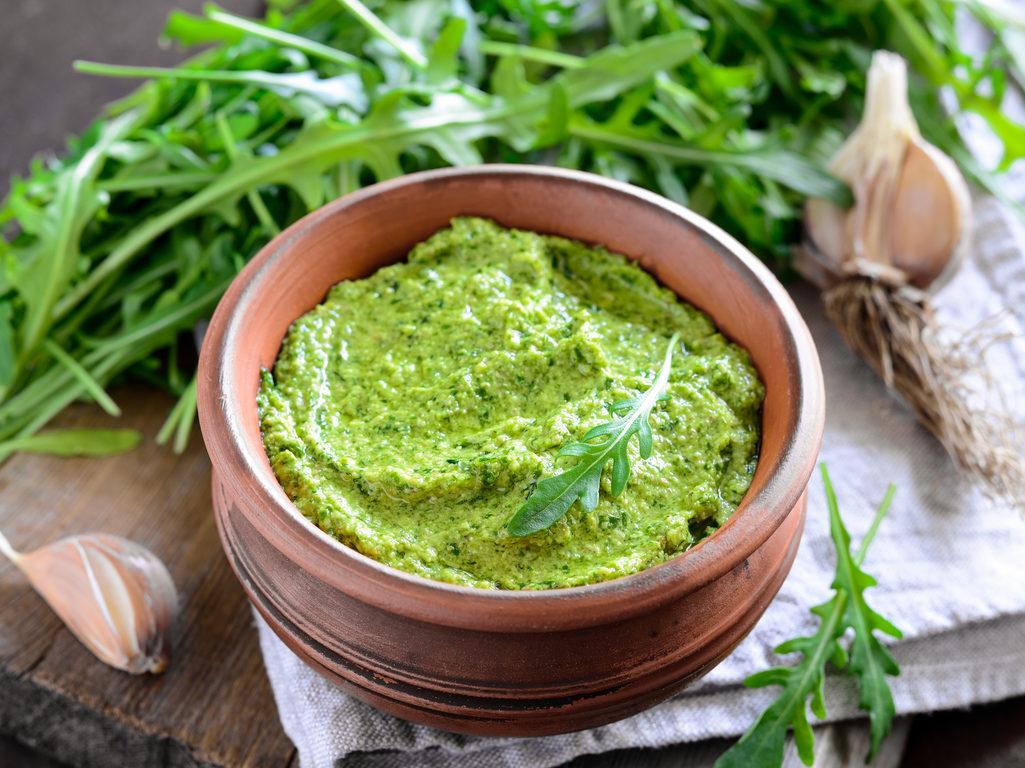 Use Arugula in Pesto Sauce