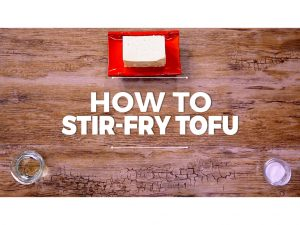 How to stir-fry tofu