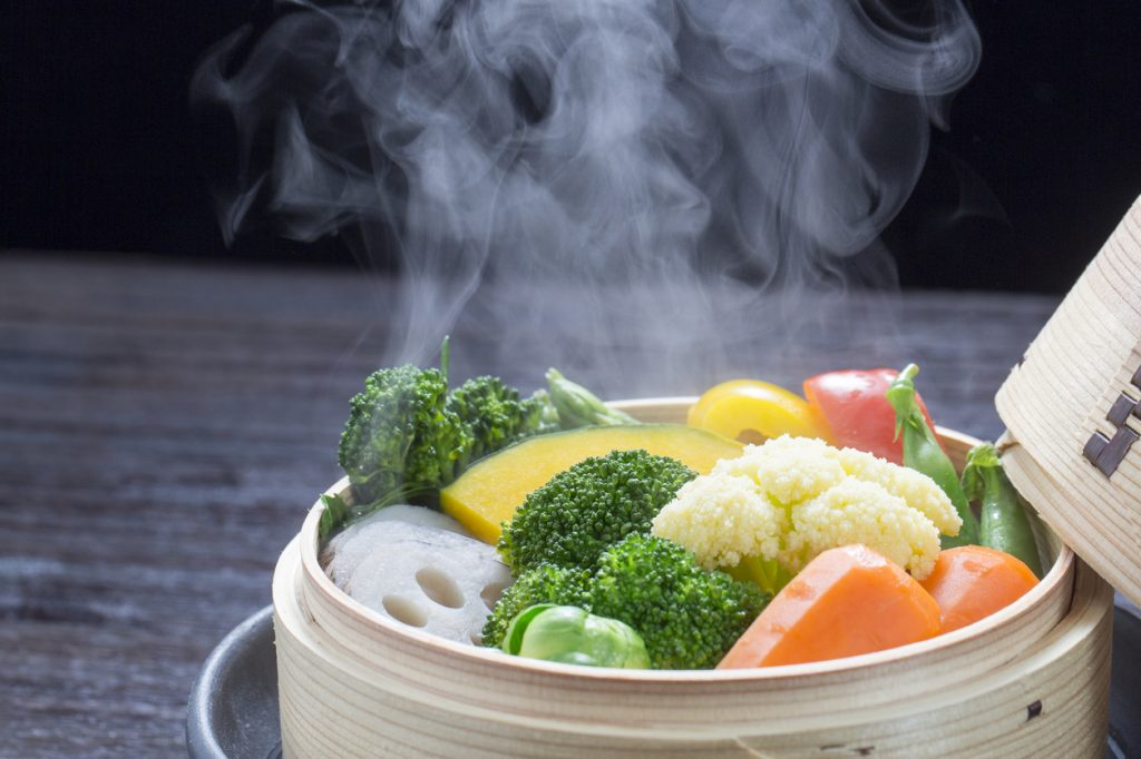 The Right Way to Steam Veggies Right Now