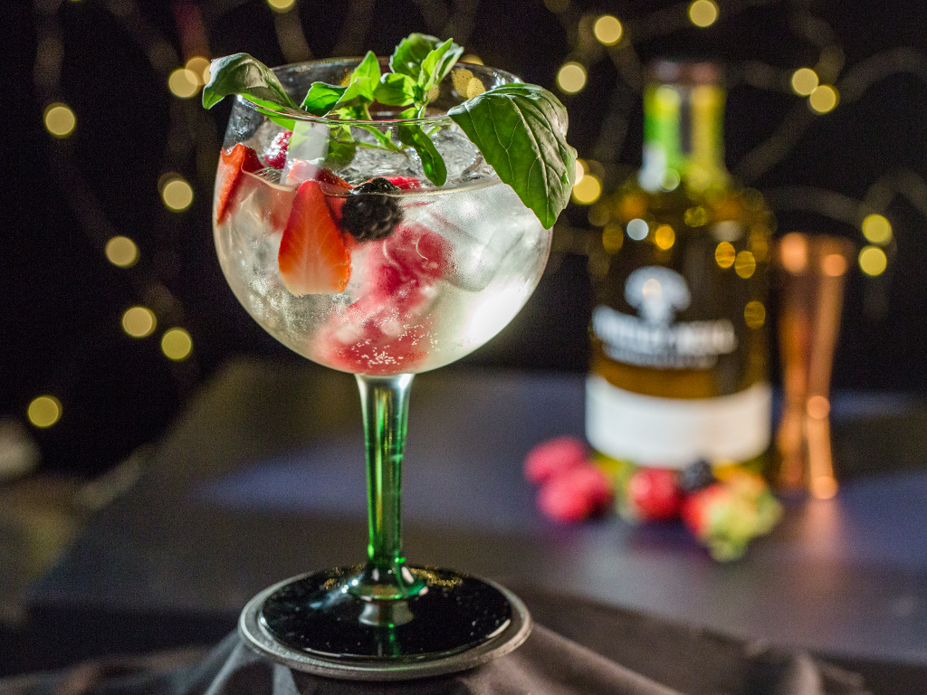 Forest Fruit Gin And Tonic So Delicious