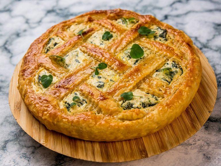 Ricotta and Spinach Lattice Pie