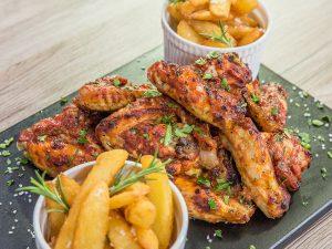 Tomato Sauce Chicken Wings