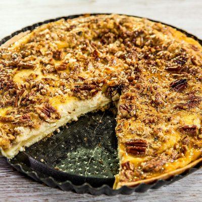 Cream Cheese Pecan Pie