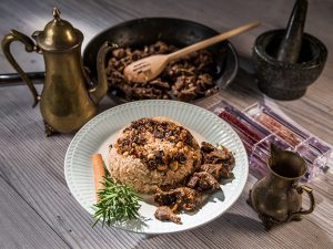Egyptian Khalta Rice with Beef