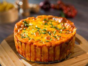 Cheesy Rigatoni Pie