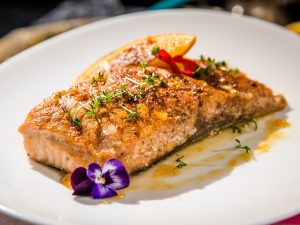 hot and spicy salmon fillet