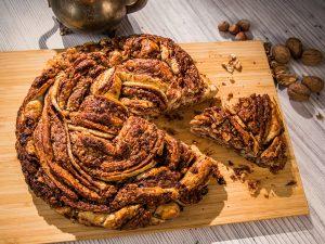 Walnut and Nutella Sweet Bread