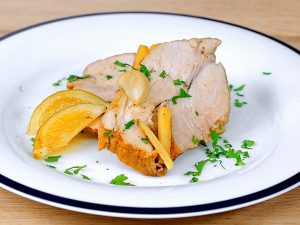 Sweet and Sour Roasted Pork