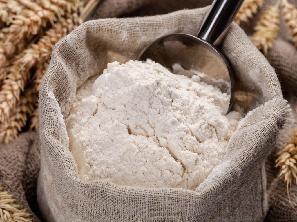 Perishable foods flour