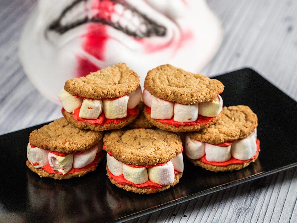 Monster Teeth Cookies