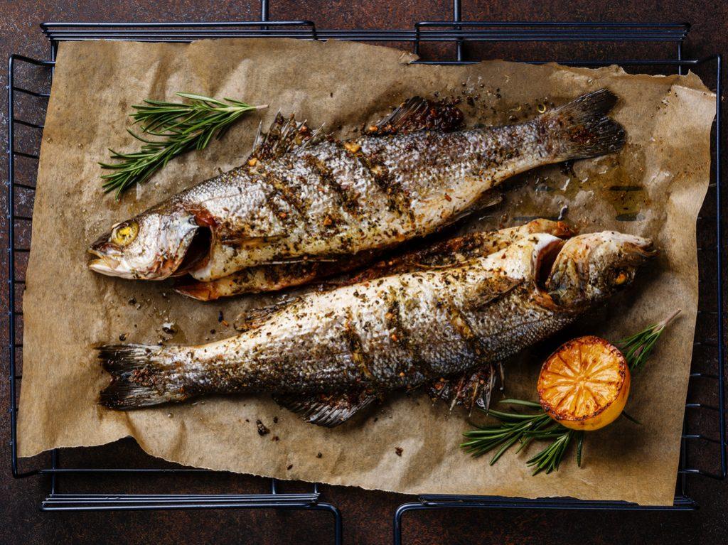 unconventional celebrity diets fish